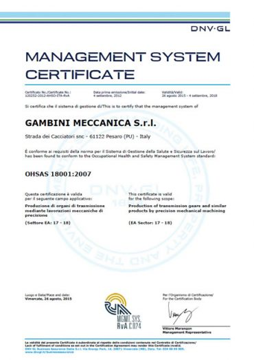 certificazione_OHSAS-18001
