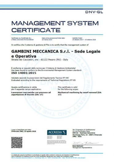 ISO 14001:2015